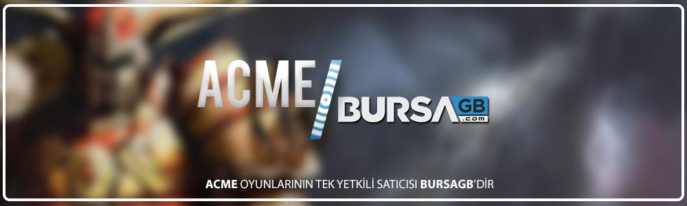 ACME Oyunlarinin Tek Yetkili Saticisi BursaGB !