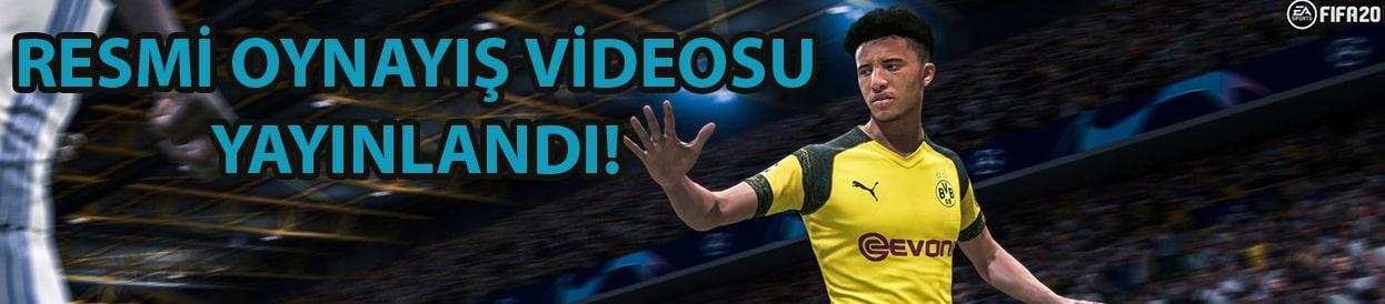 FIFA 20 Resmi Oynayış Videosu Yayınlandı!