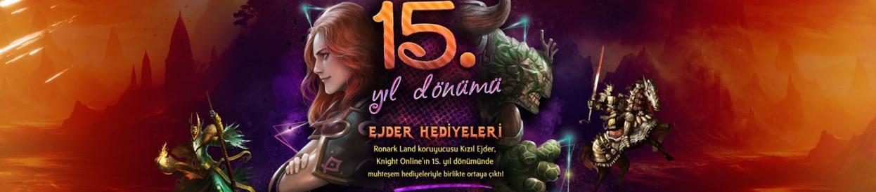 Knight Online 15. Yıl Dönümü Etkinlikleri Başladı!