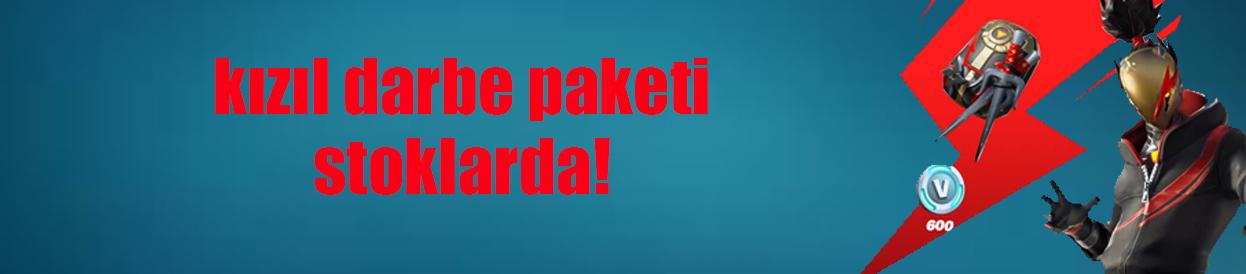 Fortnite Kızıl Darbe Paketi Şimdi BursaGB'de Seni Bekliyor!