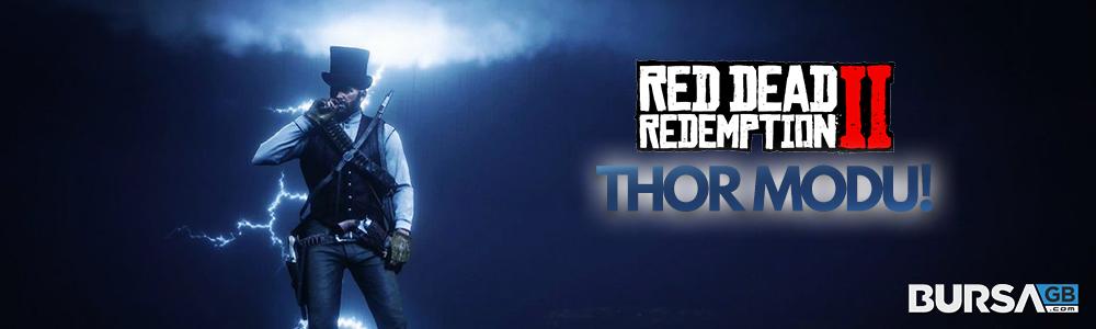 Red Dead Redemption 2 Thor Modu Yayınlandı!