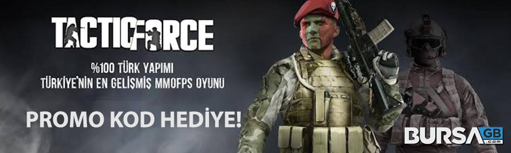 TF Altin Satin Al, Aninda TacticForce Promo Kod Kazan!
