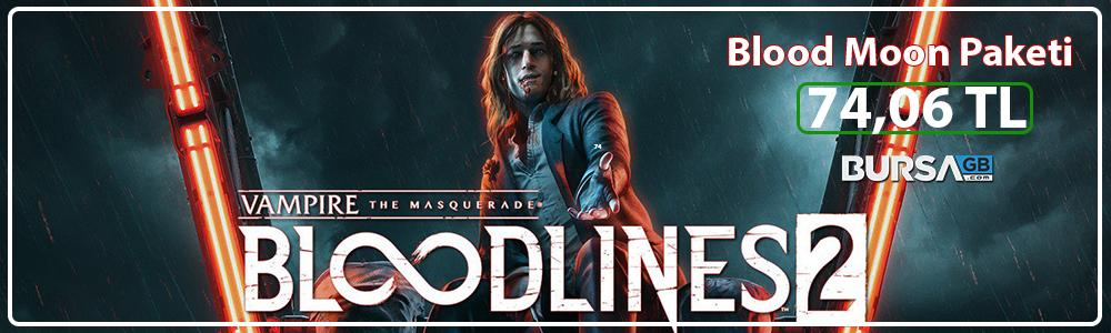 Vampire Masquerade Bloodlines 2 Serisinde Büyük İndirim Fırsatı